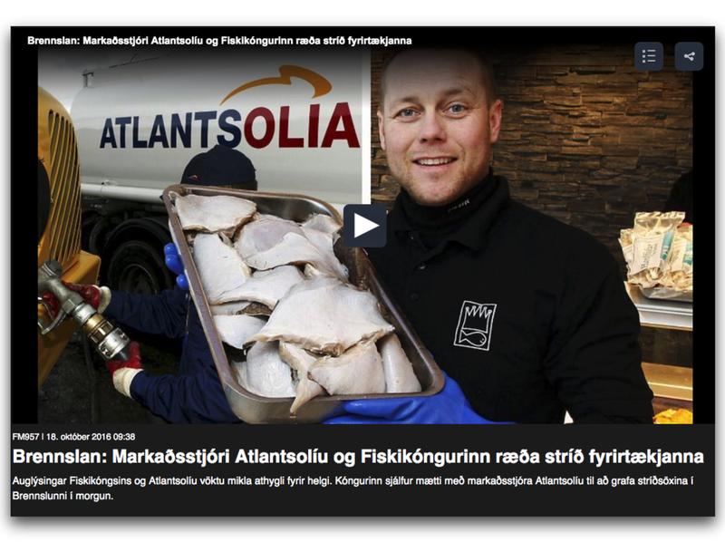 Atlantsolía Fiskikóngurinn